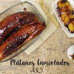 Plátanos Enmielados: Dulce Receta Mexicana