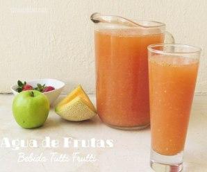 Agua con Frutas