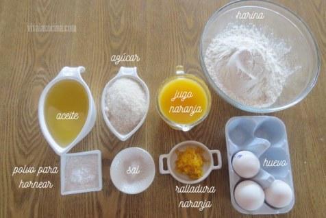 Ingredientes para el Agua de Frutas