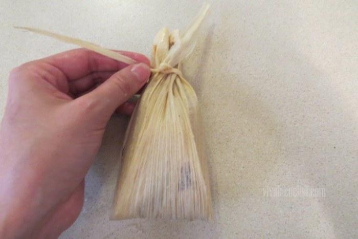 Cómo cerrar tamales