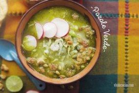 Pozole verde estilo Guerrero: Receta mexicana y vídeo