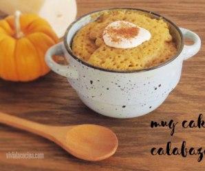 Mug Cake con Calabazas
