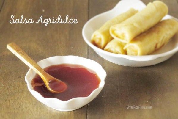 receta de salsa Agridulce oriental