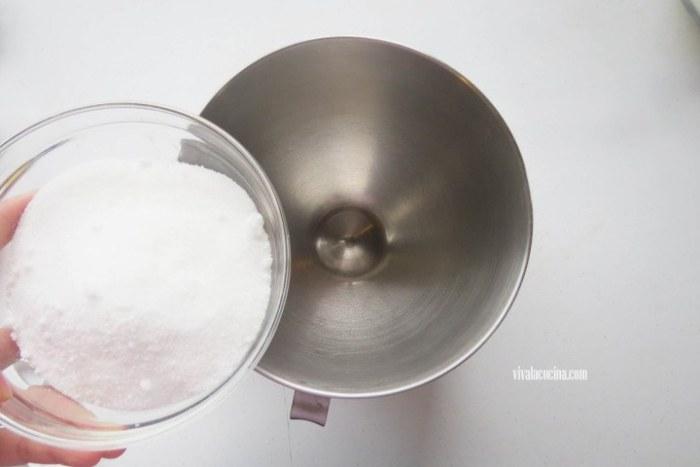Añadir el azúcar