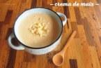 Crema de elote o Crema de maíz dulce. Receta casera Paso a paso