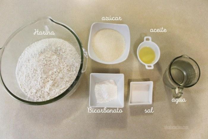 ingredientes para hacer sapitos o gorditas dulces