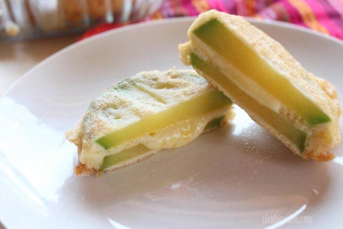 presentación tortas de calabacita