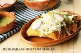 Quesadillas Fritas de Marlín Ahumado para Cuaresma. Receta + Vídeo
