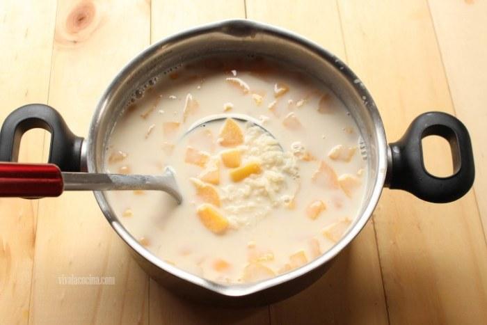 polos de arroz con leche receta