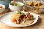 Receta de Pescado Rebozado | Fish & Chips con  guacamole