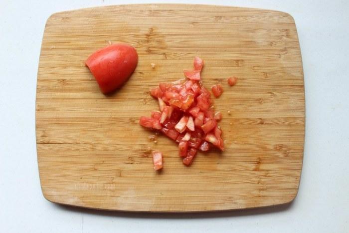 tomate para el guiso de costillas de cerdo