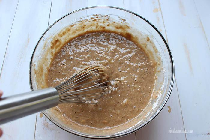 mezcla para hacer bizcocho de plátano