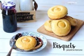 Bisquets Caseros. Panadería Típica Mexicana. Receta + Vídeo