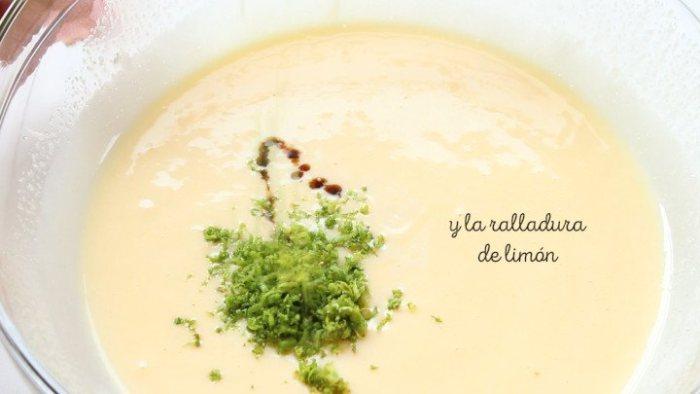 ralladura de limón para hacer rosca de yogur