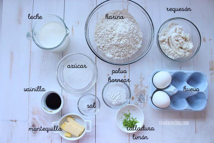 ingredientes para hacer hot cakes