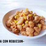 Pasta con Salsa Chipotle y Requesón: Receta Muy Fácil y Rápida