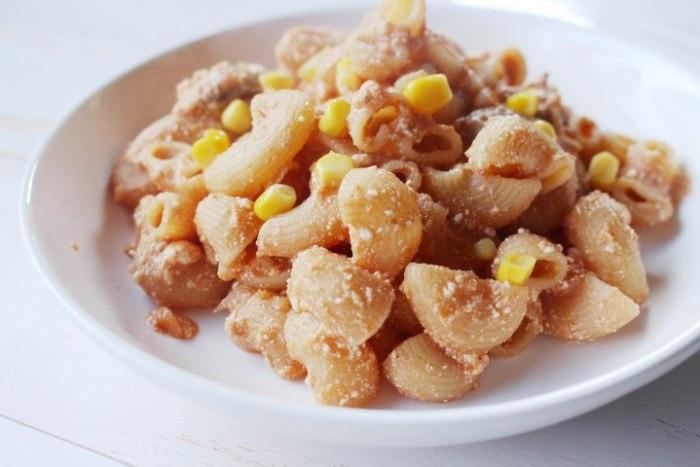 pasta con Salsa Chipotle y requesón