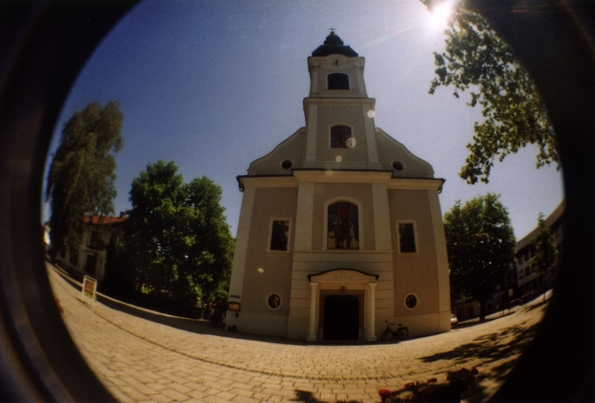 Jennersdorf through a Fisheye (2009)
