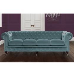blue velvet chesterfield sofa moroccan floor australia italian any colour 2 3 4 seater padstow