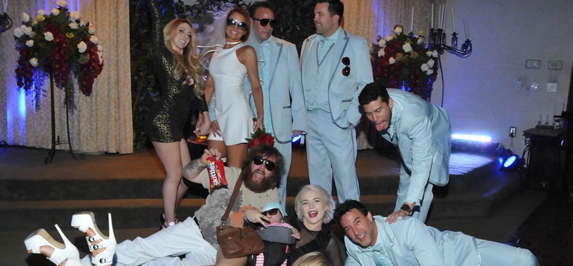 The Hangover Themed Wedding at Viva Las Vegas Weddings