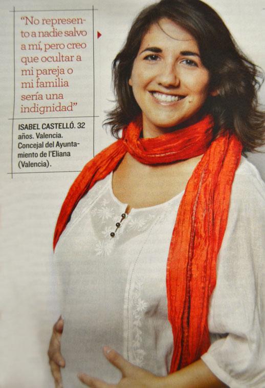Foto de un reportaje en el magazine de El Mundo
