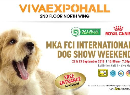 MKA FCI INTERNATIONAL DOG SHOW