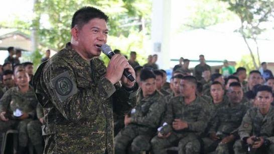 AFP chief of staff Lt. Gen. Gilbert Gapay