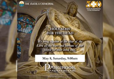 Manila Cathedral magaalay ng misa para sa pumanaw sa covid-19