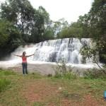 Pontal do Paranapanema também tem cachoeira, achamos em Iepê/SP