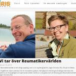 Fredrik Hed, medicinjournalist, Reumatikervärlden