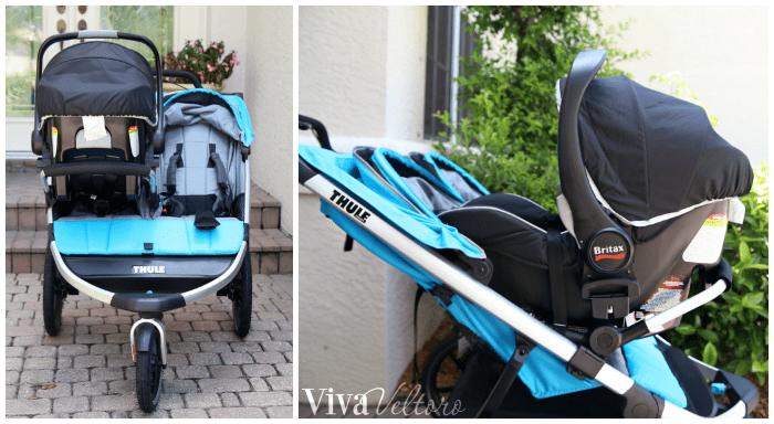 thule urban glide 2 double jogging stroller review viva veltoro. Black Bedroom Furniture Sets. Home Design Ideas