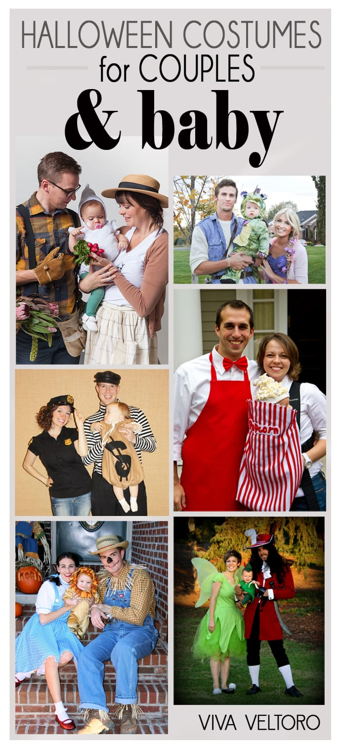 Halloween Costumes Ideas For Babies: Halloween Costume Ideas For Couples + Baby!