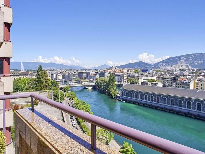 Appartement  Genve avec vue exceptionnelle  Suisse