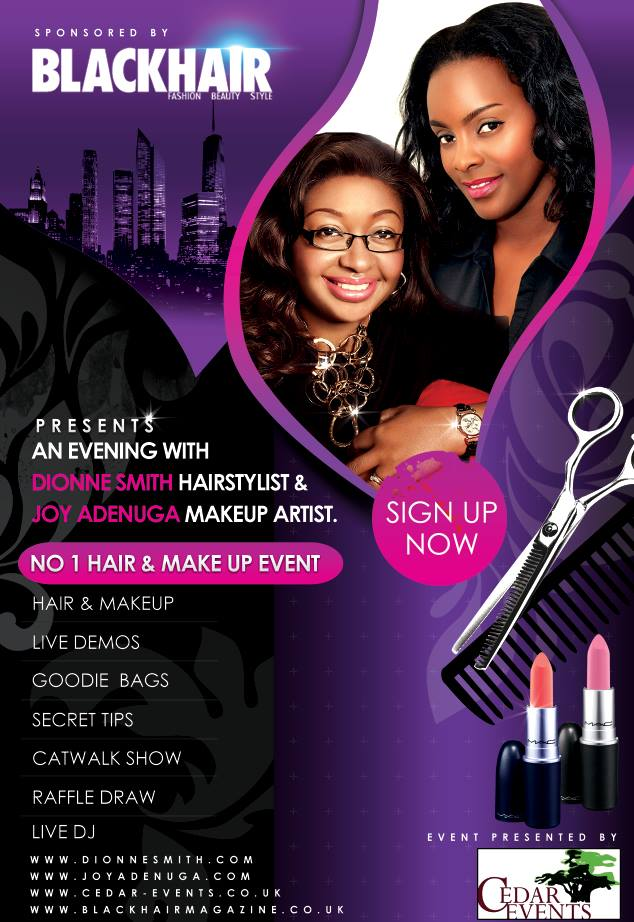 Hair And Makeup Flyer Design Vive Designs