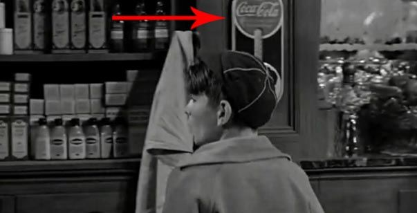 Coca Cola dans It's a wonderful life