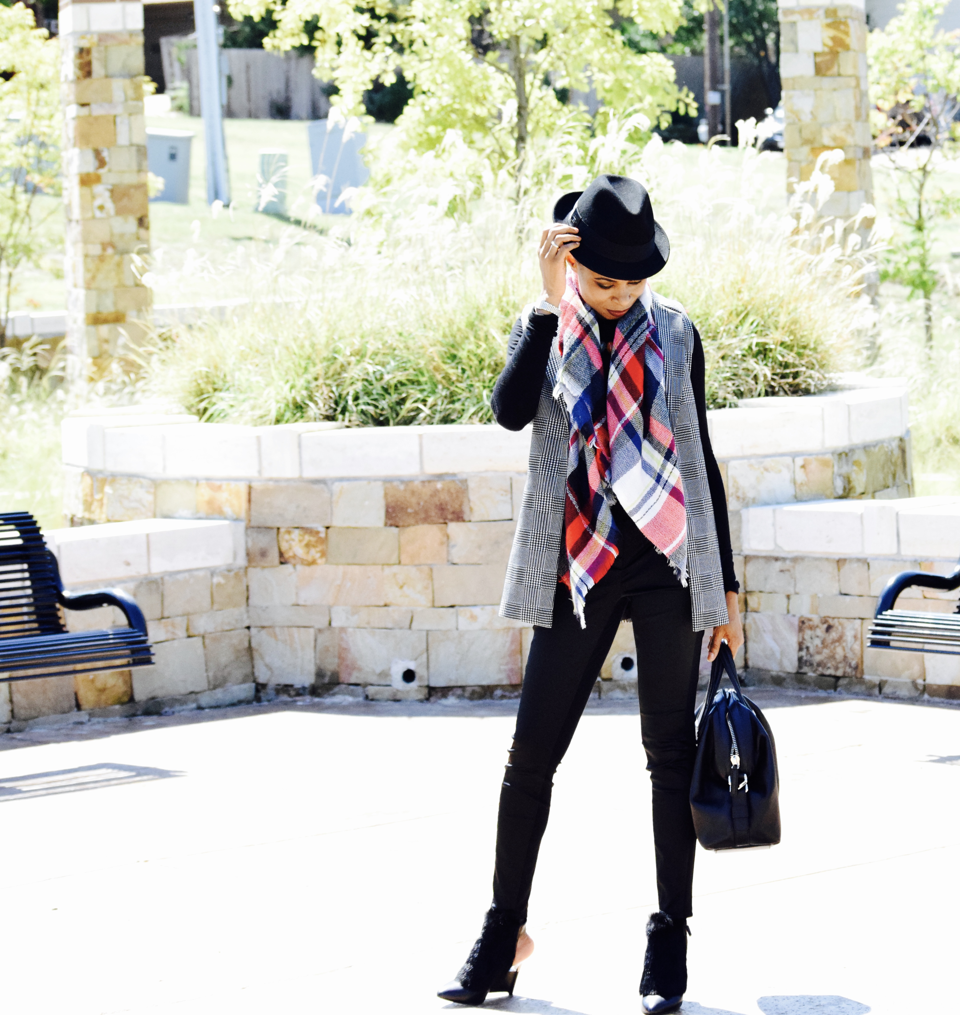 How to take your Fall outfit from drab to Glam posted