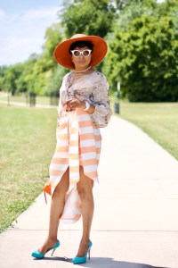 Styling Asymmetric wrap skirt, Fall fashion take