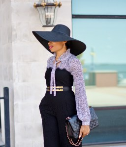 Rachel Zoe Lace Jumpsuit for Fall Posted by Vivellefashion