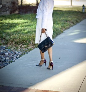 Classic black and white...timeless, effortless and chic
