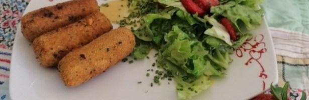 Tertúlias com Sabor: Croquetes de soja e cenoura