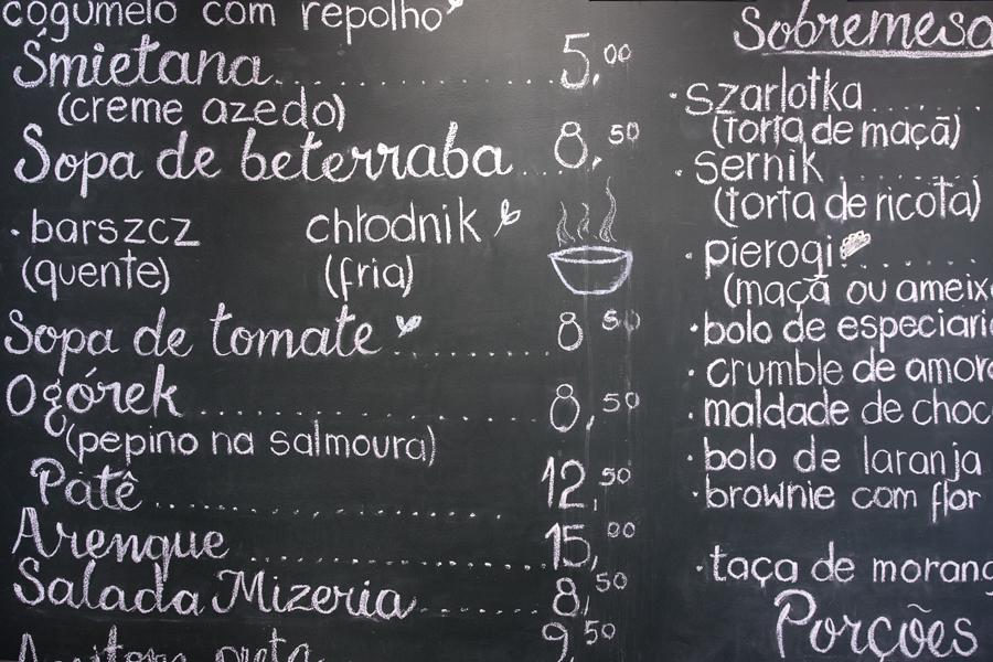 comida polonesa São Paulo Polska 295