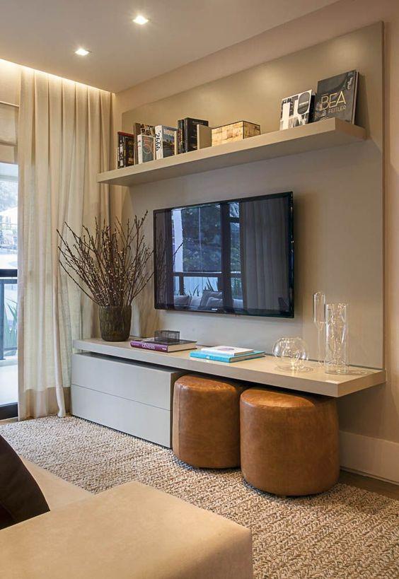Rack com Painel para TV  Dicas para escolher a seu  Viver em Casa