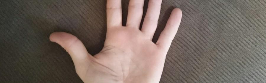 mappa delle dita