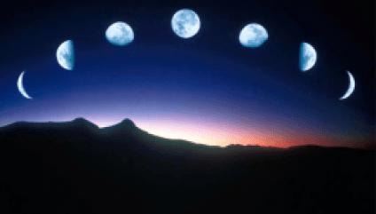 il fascino della luna