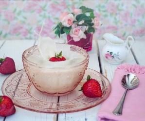 Ricetta della crema di latte vegetale
