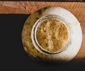 Ricetta del lievito madre, 100% vegan e gluten-free