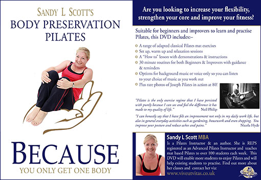 Because Pilates DVD