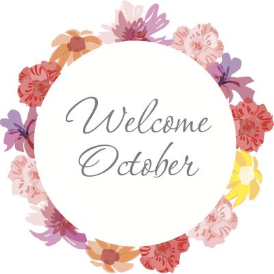 Welcome October! 🍁