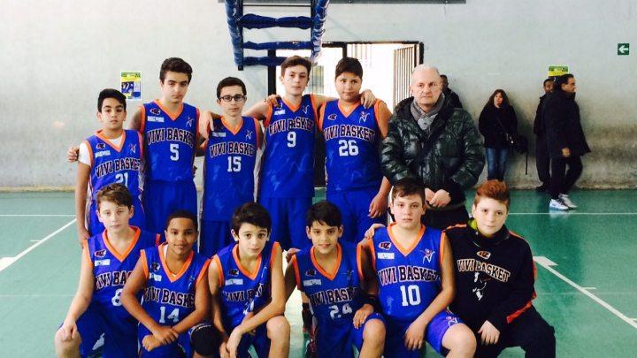 Under 13: Vivi Basket lotta alla pari con Maddaloni