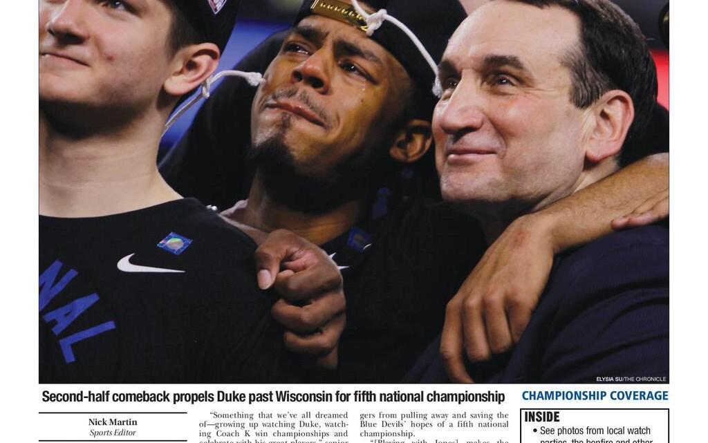 Coach K ed i Blue Devils di Duke nella leggenda